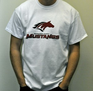 Official Mustang T-Shirt (White)